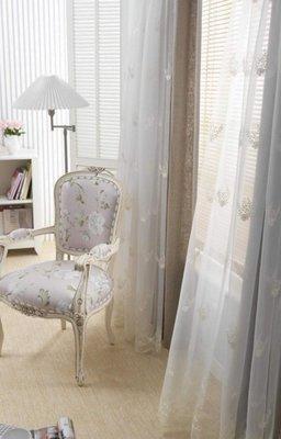 台中窗簾-雅式多窗簾布~無接縫窗紗~盛世歐風~每呎400-480元特價中《台中市免運費》