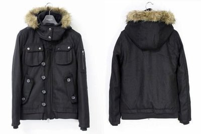 【換季優惠】日本品牌suggestion 頂級N-2B連帽羊毛厚實鋪綿軍裝外套