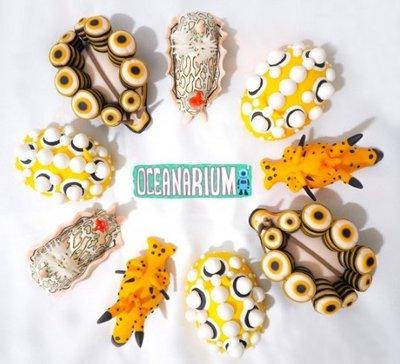 OCEANARIUM 海蛞蝓 造型磁鐵 (軟陶)