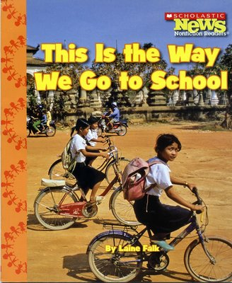 *小貝比的家*THIS IS THE WAY WE GO TO SCHOOL/平裝/3~6歲/李貞慧-PART1.xis