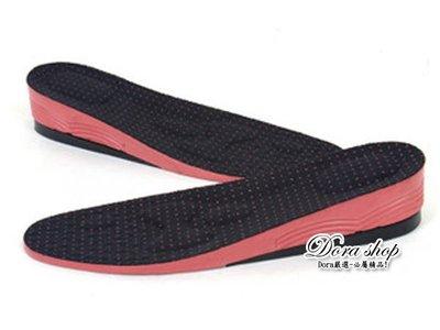 ☆DORA☆超Q時尚 兩層3+1CM=4CM 高雅舒適增高墊 氣墊 增高鞋墊!中筒 高筒 帆布鞋 靴 獨家販賣