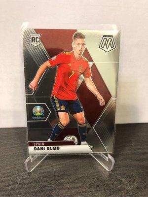 2021 Dani Olmo rc mosaic 西班牙🇪🇸前鋒 晉級4強 prizm uefa 足球 歐洲國家盃 topps chrome C羅 世界盃
