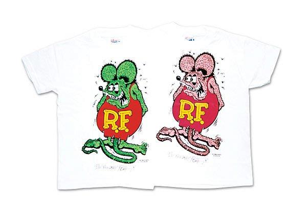 (I LOVE樂多)RAT FINK RF老鼠芬克女生/小孩尺寸短袖T恤(購買前請比對尺寸喔)