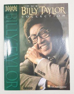Billy Taylor 爵士大師鋼琴五線譜曲集,Artist Transcriptions Piano 系列 美版全新品,敬請把握