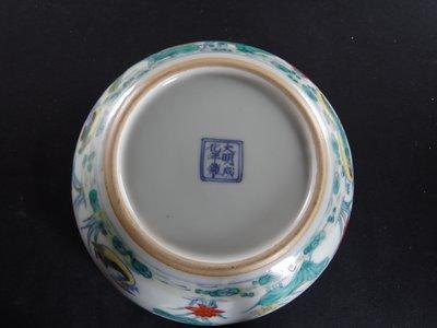 大明成化年製 五彩花鳥紋碗.......此件有2件購買第2件5折