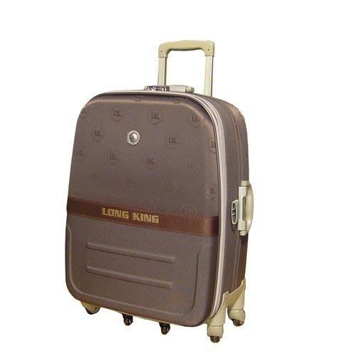《缺貨中補貨葳爾登》英國LK六輪25吋登機箱360度真硬面行李箱/優良設計獎旅行箱25吋1982咖啡