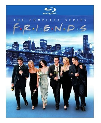 BD 全新美版【六人行完整版 1 ~ 10 季】【Friends】Blu-ray 正版藍光 繁體中文字幕