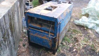電焊 發電機 日本製造 柴油三缸水冷