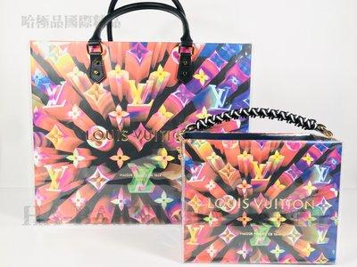 【哈極品】限量紙袋包《Louis Vuitton LV 紙袋改裝包包 手提包/斜背包》大&小可選