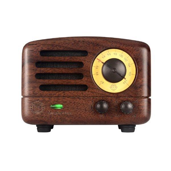5Cgo【鴿樓】會員有優惠 3219736056032  MAO KING 貓王小王子紅芯木原木便攜手機藍牙音箱音響收音