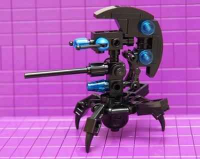 [樂高零件]自組75002裡的 Destroyer Droid_sw447_(黑/ 藍色) 新北市
