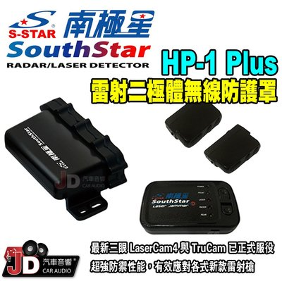 【JD汽車音響】南極星 HP-1 Plus 雷射二極體無線防護罩 防護罩 HP1 雙向無線傳輸 中文語音版本 高角度雷射