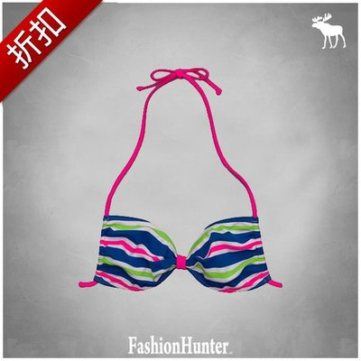 折扣【FH.cc】A&F 泳裝 比基尼 Bridget Swim Suit (女 上S + 下S) 刺繡麋鹿 HCO
