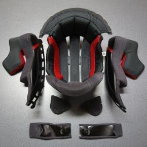 日本SHOEI原廠頭盔配件X14 Z-7鏡片底座內襯螺絲尾翼下巴網護鼻果味