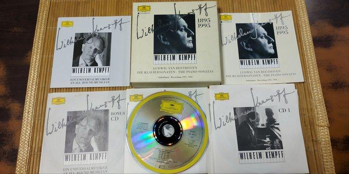 好音悅 半銀圈 Kempff 肯普夫 貝多芬 Beethoven 鋼琴奏鳴曲集 8+1CD DG 德PMDC01版