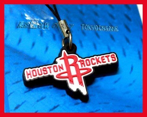 NBA Rockets 休士頓 火箭隊 隊徽 手機 包包 精緻 吊飾 週邊 ~ JAMES
