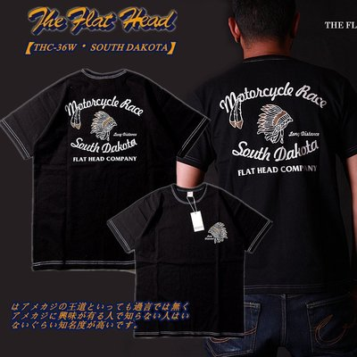 【TOP MAN】 THE FLAT HEAD DAKOTA 印地安美式復古TEE短袖T恤 20642021