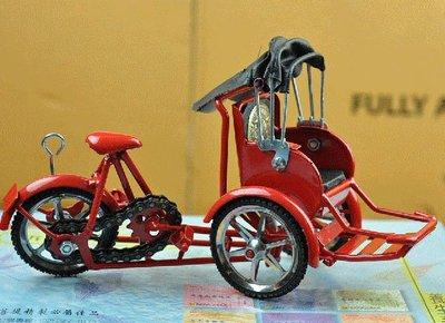 宋家苦茶油mantaxi.1高級.純手工製作的人力紅包車 紅色的車體.黑色敞篷.豪華舒適.可踩可彎