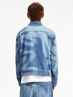 百分卓衣~Crissrex Store WHOOSIS 不知其名 國潮臉譜鐳射印牛仔夾克外套