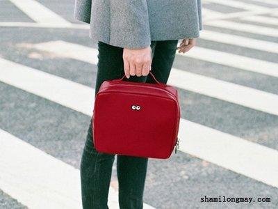 HAPPY+【V5158】簡約時尚 Kiitos包包 PIXEL像素皮革 手提包 側背包 女包 書包 水桶包 斜肩包 手