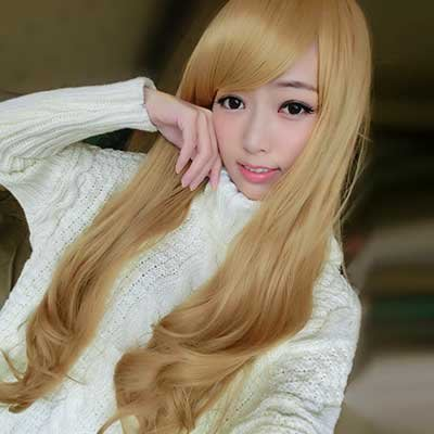 長捲髮~夢幻洋娃娃超長捲髮☆高仿真超自然整頂假髮【MA023】雙兒網