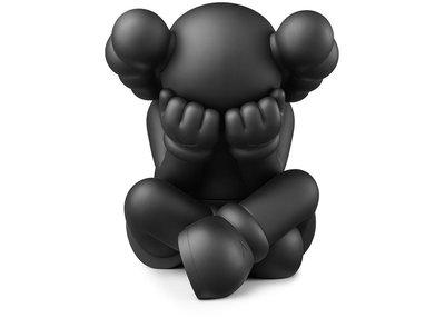 「Rush Kingdom」Kaws separated Vinyl figure black 黑色