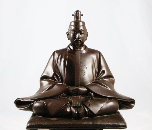 花見小路357 天神樣置物 日本名家作品 銅彫刻塗箱 彫刻家  砂原放光【放光】作