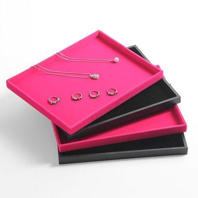 hello小店-小號無蓋看貨盤 首飾盤 珠寶托盤 平面空盤飾品展示盤首飾架#飾品架#展示道具#