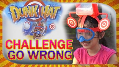 【NF179濕身射手帽】Wet Water Hat 新奇桌面遊戲 Dunk hat 裝水帽砸球互動遊戲 神射手 濕身帽