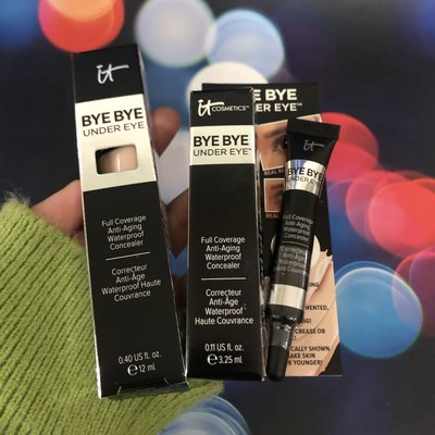 蝸蝸美妝全球購新版IT COSMETICS Bye Bye Under Eye眼部遮瑕膏light medium tan