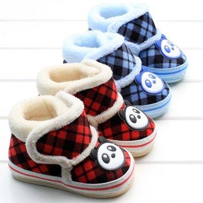 森林寶貝屋~軟膠底寶寶保暖鞋~學步鞋~...