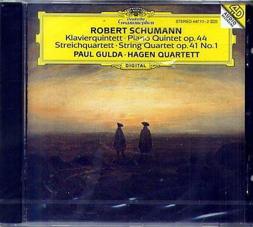 舒曼:鋼琴五重奏.弦樂四重奏 / 顧爾達,Hagen Quartet --- 4471112