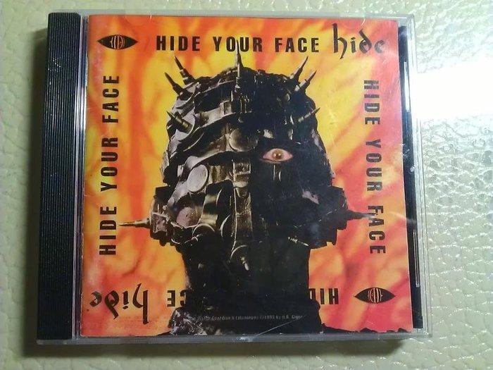 hide - Hide Your Face X Japan 吉他手首張個人專輯 日盤