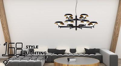 【168 Lighting】日內瓦《LED吊燈》(兩款)圓款GE 81007-1