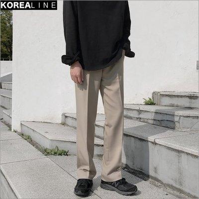 搖滾星球韓國代購 百搭寬管西褲 / 2色 MDN3532