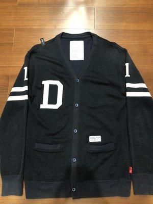 WTAPS  SWEATER WOOL D 針織衫 羊毛 開襟 外套 條紋 69 黑 2號 日本製