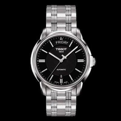 Tissot 天梭恒意系列鋼帶機械男腕錶 T0659301105100