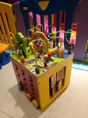 【BABY House高雄旗艦店】出租美國parents busy zoo 木製 益智玩具 感統玩具 八寶箱 高雄市