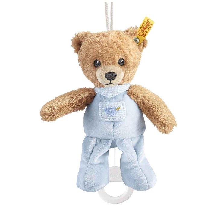 【STEIFF德國金耳釦泰迪熊】 Sleep Well Bear (音樂熊) 共3款