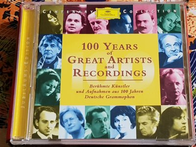 R古典(二手CD)CENTENARY COLLECTION SAMPLER~~100 YEARS~(古)