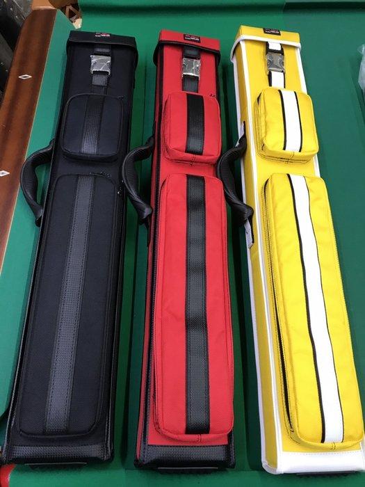 全新FURY八孔(8孔)翻蓋式球筒 尼龍布材質  (正黃色 正黑色 正紅色) 球桿桶