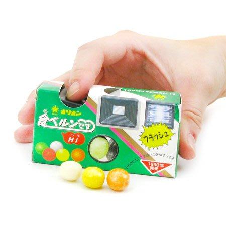 +東瀛go+ ORION 相機造型汽水糖 24g 好麗友 懷舊糖果 食玩 日本糖果 汽水糖 日本進口