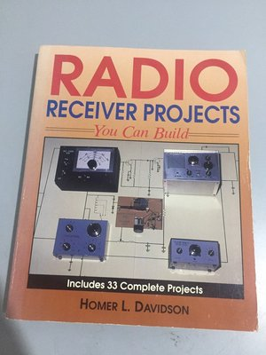 F1-3《好書321KB》RADIO Receiver Projects You can Build/大專用書