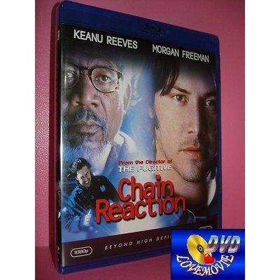A區Blu-ray藍光正版【連鎖反應Chain Reaction (1996)】[含中文字幕] DTS-HD版全新未拆