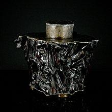 【古珍品】清代   隨形木錫加工茶倉