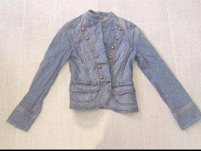98%新「Esprit」牛仔 修腰 外套 Lady 1968 Blue Jean Jacket (Size XS) 原價$950