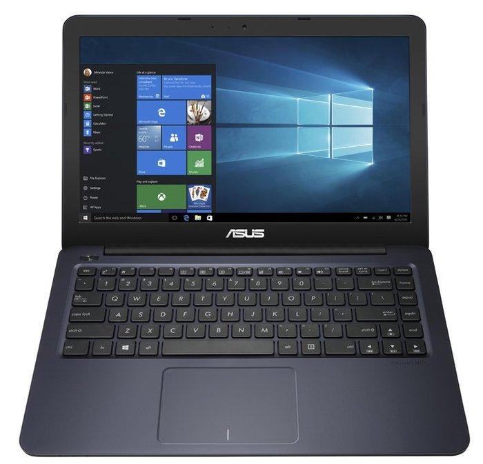 華碩L402NA-0042BN3450藍 N3450/4G/W10+Office365+筆電包+無線鼠NT$9990含稅