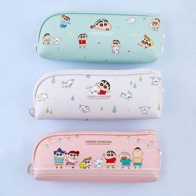 ♀高麗妹♀韓國 CRAYON SHIN-CHAN蠟筆小新 大容量筆袋/各式小物收納包/化粧包(預購)