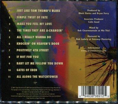 *真音樂* BRYAN FERRY / DYLANESQUE 歐版 二手 K0436  (清倉.下標賣3)