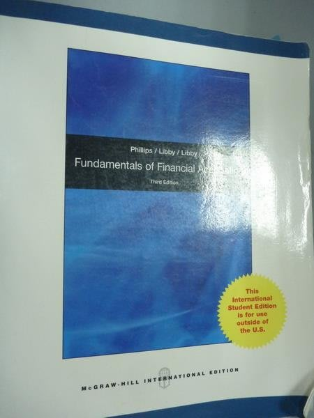 【書寶二手書T8/大學商學_PMM】Fundamentals of Financial Accounting_Phill
